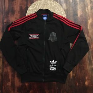 Adidas Star Wars Darth Vader Track Jacket